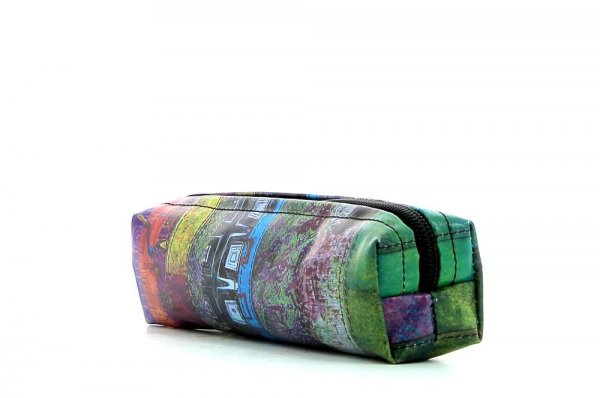 Pencil case Marling Essenberg abstract background, geometric shapes, lines