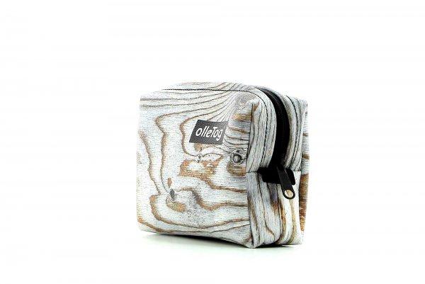 Cosmetic bag Vilpian Mahler wood, brown