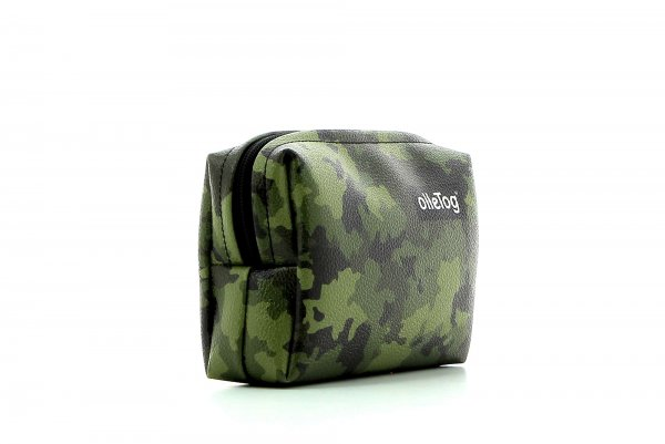 Cosmetic bag Vilpian Feuer camouflage, green, brown