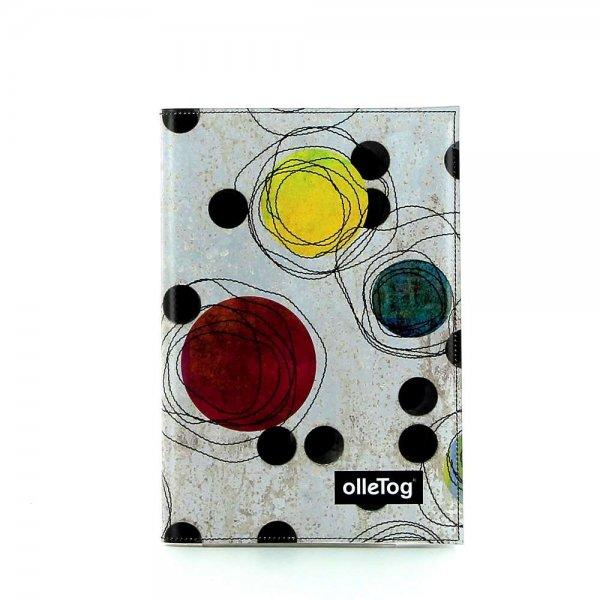 Notizheft Tarsch - A5 Bruder Willram Punkte, bunt, beige, gelb, grün, lila, orange