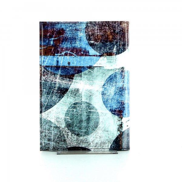 Notizheft Tarsch - A5 Appolonia Abstrakt, Punkte, blau