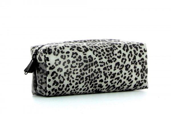 Federmäppchen Rabland Treib Leopardenmuster, braun, schwarz, grau