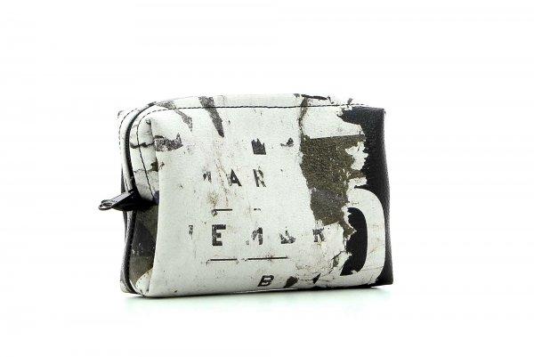 Cosmetic bag Vilpian Gumer billboard, scriptures, vintage, white, brown, black, white